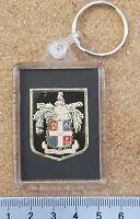 Esso Foil Football (Soccer) Shiny Foil Club Crest Badge Keyring - Various Teams