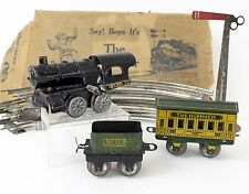 American Flyer O Gauge The Hummer Windup Tin Train Circa 1910s w/ Box RARE