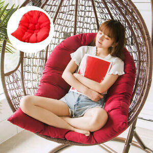 Hanging Egg Chair Cushion Outdoor Indoor Egg Hammock Pads Cover No Chair