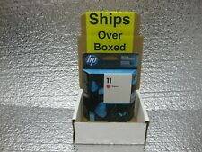 HP 11 Magenta Ink New Genuine C4837A *** SHIPS OVERBOXED *** Date: Jan 2022