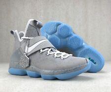 Nike Lebron 14 XIV Basketball Shoes Marty McFly Mag Gray 852405-005 Mens Sz 10