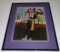Shaquille O'Neal 1997 Hollywood Framed 11x14 Photo Display Lakers