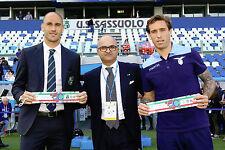 Cannavaro Sassuolo Fascia Tricolore vs Lazio 2016 2017 signed match worn iss