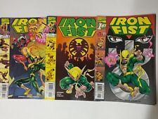 Marvel comic lot Iron Fist 1998 1 2 3 VF/VF+ Bagged