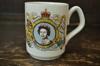Queen Elizabeth II Silver Jubilee (1952-1977) Commemorative Mug by Sadler