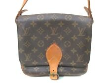 Auth LOUIS VUITTON Cartouchiere MM M51253 Monogram Canvas 864SL