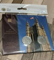 1973 EEC Entry & 2020 Withdrawal from the European Union 50p Brexit Two Coin Set