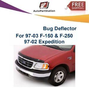 AVS 21747 Hoodflector Smoke Hood Protector Bug Shield For 97-02 Ford Expedition