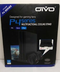OIVO Regular PS4/ PS4 Slim/ PS4 Pro Vertical Cooling Stand *Dented*Factory Seal*