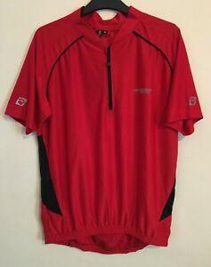 Muddyfox Red Short Sleeve Cycling Top Size M - (S16)