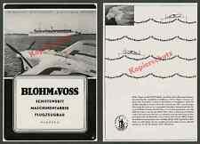 """Lufthansa Messerschmitt & voss ha 139 D-Asta """"étoile polaire"""" Aviation Hambourg maritime 1939"""