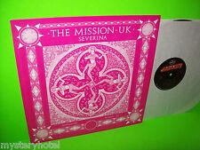 "THE MISSION UK SEVERINA USA PROMO 12"" RARE TRANSLUCENT VINYL Mercury PRO 507 NM"
