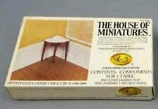 New Listing1980 House Of Miniatures Hepplewhite Corner Table #40061 New-Other Inspected