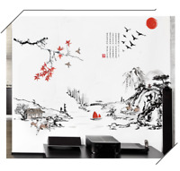 Asian Oriental Wall Art Sticker Vinyl Mural Decal Removable Home Room Decor DIY
