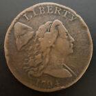 1794 Head Of 94 Liberty Cap Large Cent Nice Grade Beautiful Coin