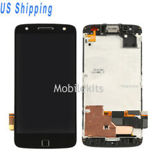 For Motorola Moto Z Force XT1650-02 LCD Screen Touch Digitizer With Frame USA