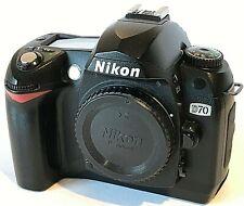 NIKON D70 solo corpo fotocamera digitale reflex usata 6,1 MP - 36254 scatti