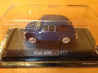 "DIE CAST ""FIAT 600 - 1957"" SCALA 1/43 RBA AUTO INDIMENTICABILI"