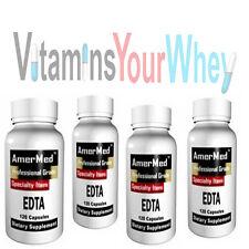 4 bottles EDTA Pure Professional Grade Oral Chelation heavy metal Toxins