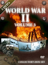 DVD World War II Volume 3 Collectors Box Set   5DVDs