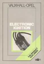 Vauxhall Opel Electronic Ignition 'The Product Explained' 1984-85 UK Brochure