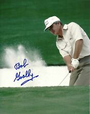 BOB GOALBY GOLF SIGNED AUTOGRAPHED 8x10 PHOTO W/COA CHIPPING