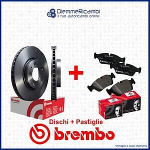 KIT DISCHI + PASTIGLIE ANTERIORI BREMBO AUDI A4 - AVANT - A5 - SPORTBACK - 314mm