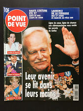 point de vue N°2533 rainier monaco caroline diana philippe de belgique 1997