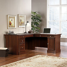 L-Shaped Desk - Select Cherry - Palladia Collection (413670)