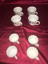 Vileroy und Boch 4 x Kaffeetassen 4 x Mokkatassen