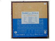 VERDI * IL TROVATORE * COLUMBIA BOXSET 33CXS 1483 / 33CX 1484-5 B/GOLD VG COND