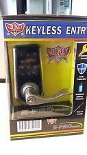 Electronic E-Pro Touchscreen Combination Keyless Pushbutton Lever Door Lock