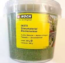 (2,48€/100g) NOCH 08370, Blumenwiese (Sommerblumen), Streumaterial, 200 g Dose
