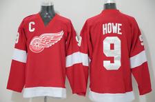 Men's Gordie Howe Red Detroit Red Wings Premier Breakaway Retired Player Jersey