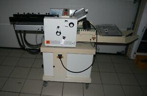 Falzmaschine CP Bourg folder 3 Baujahr 1996 Format A3 2 Taschen