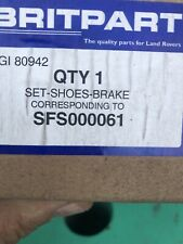 Britpart  Brake Shoes SFS000061/GI80942 Landrover