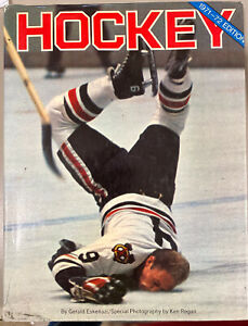 1971-72 HOCKEY By George Eskenazi Bobby Hull Cover,224 pages Ills DJ Sports book