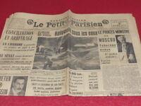 """[PRESSE AVANT-GUERRE] """"LE PETIT PARISIEN"""" 4 MARS 1938 Hitler Hollywood Moscou"""