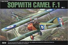 Academy 1/32 Sopwith Camel F.1 Cartograf Aero Plastic Model Kit Military 12109