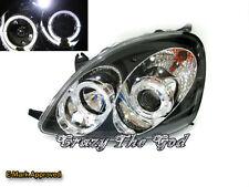 Yaris Vitz 98-02 Halo Pro Headlight Black for TOYOTA