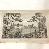 Authentic Antique 1700-1800's Engraving Plates On Paper — Artwork Art Old - D