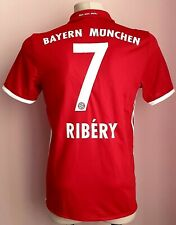 Bayern Munich 2016 - 2017Home football Adidas shirt #7 Ribéry