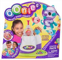 OONIES Inflator Starter Pack - inflatable mini balloons magically stick together