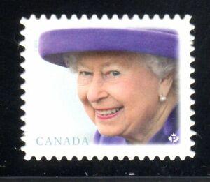 2019 Canada SC#3137i - Queen Elizabeth II - die cut from booklet - M-NH