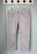 Athleta Womens Size 2 XS Gravel Grey Frontier Stretch Denim Capri Cropped Pants
