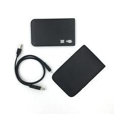 "1TB 1000GB External Hard Drive Portable 2.5"" USB 2.0 HDD  with Warranty Black"
