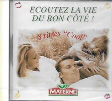 CD album: Compilation: Ecouter la Vie du Bon Côté !. Materne. Polygram. Y