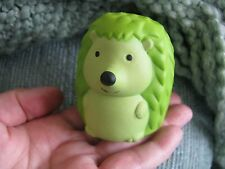 NEW ZANY GREEN HEDGEHOG FOAM RELAXABLE SQUEEZE STRESS BALL-STRESS RELIEF!