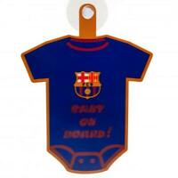 Official  FC BARCELONA  Baby On Board Car Sign 18cm x 16cm Barca Gift