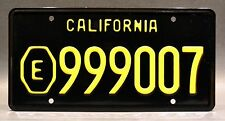 Emergency TV Show / Squad 51 / Ambulance Paramedic *Stamped* Prop License Plate